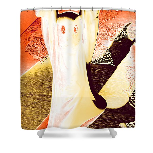 Ghost #1 Shower Curtain