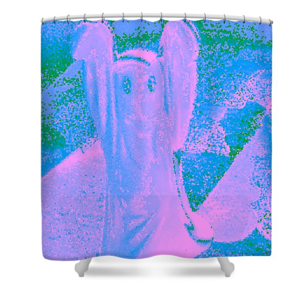 Ghost #4 Shower Curtain