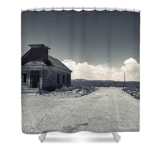 Ghost Church Shower Curtain