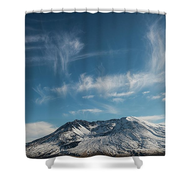 Ghost Clouds Shower Curtain