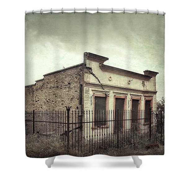 Ghost Cottage Shower Curtain