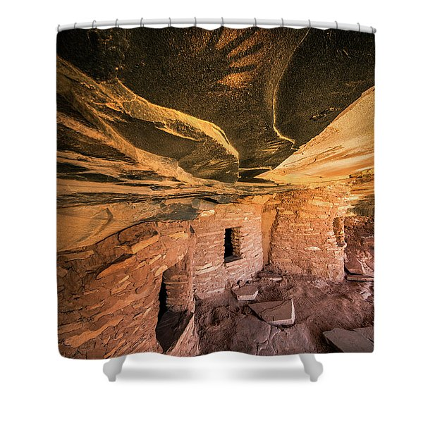 Ghost Hand Shower Curtain