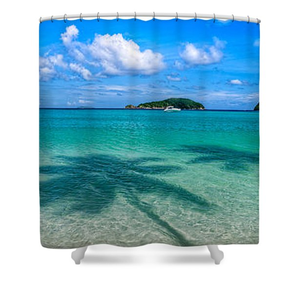 Ghost Palms Shower Curtain