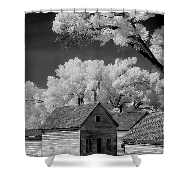 Ghost Town Bannack, Mt  Shower Curtain