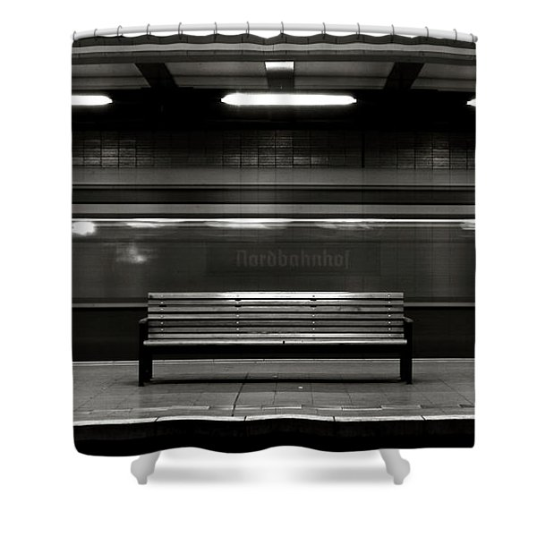 East Berlin Ghost Train Shower Curtain