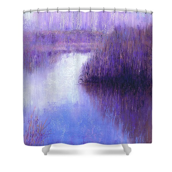 Ghostly Sentinels Shower Curtain