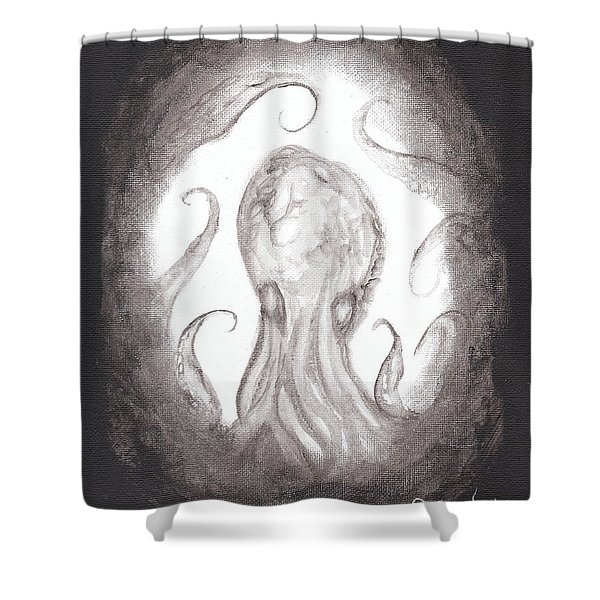 Ghostopus Shower Curtain