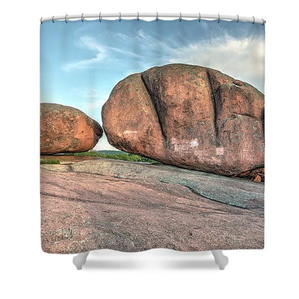 Giant Potatoes Shower Curtain