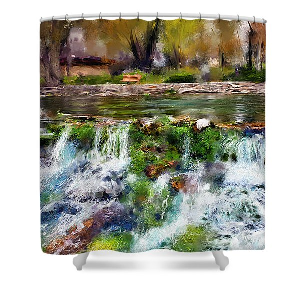 Giant Springs 1 Shower Curtain