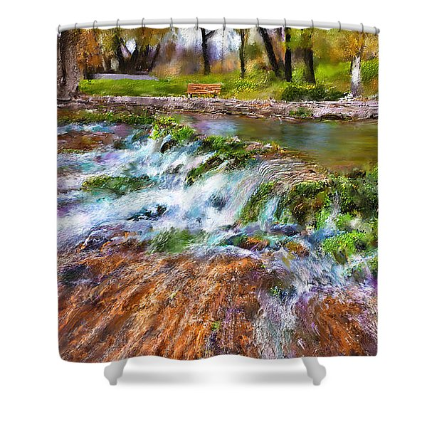 Giant Springs 2 Shower Curtain