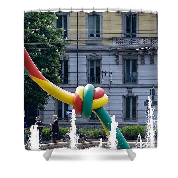 Giant Thread In Milan Shower Curtain