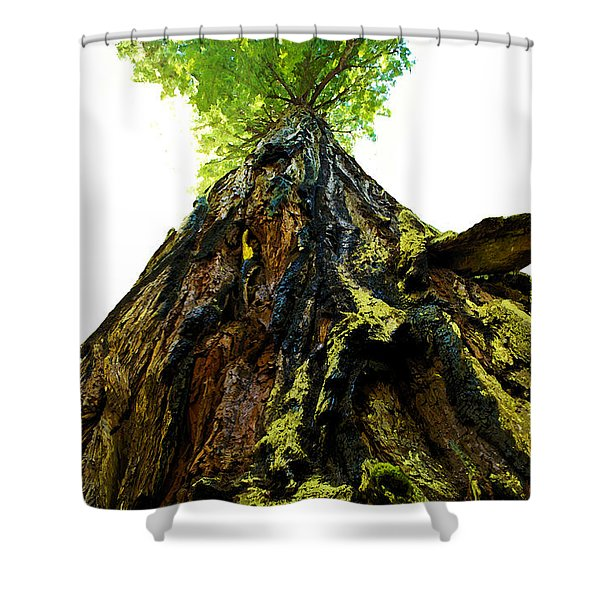 Giants Of The Earth Shower Curtain