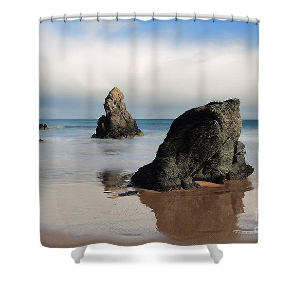 Giants On Sango Bay Shower Curtain