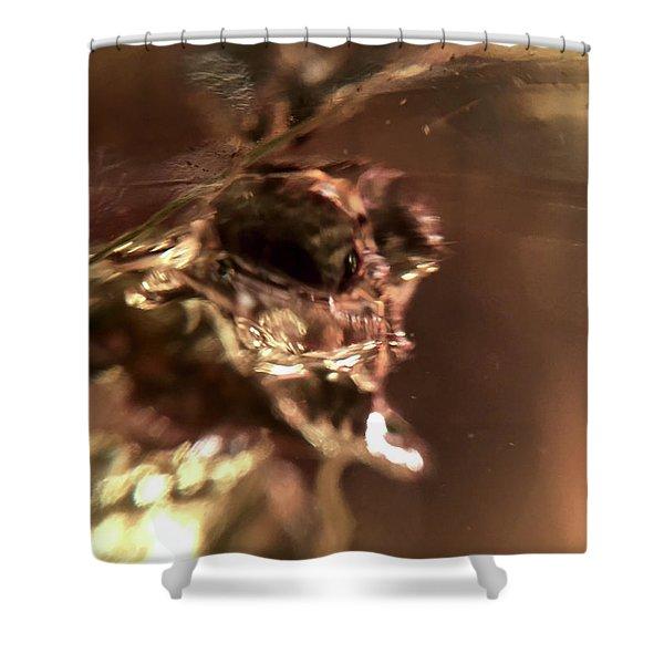 Giger Flower, A Monster Shower Curtain