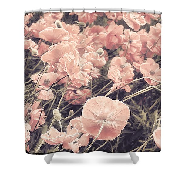 Ginger Poppies II Shower Curtain