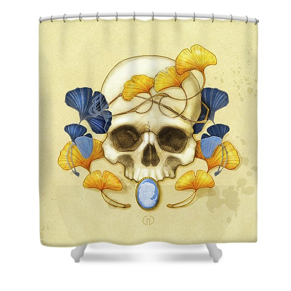 Ginkgo Relic Shower Curtain