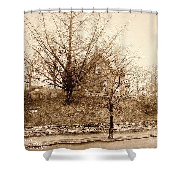 Ginkgo Tree, 1925 Shower Curtain