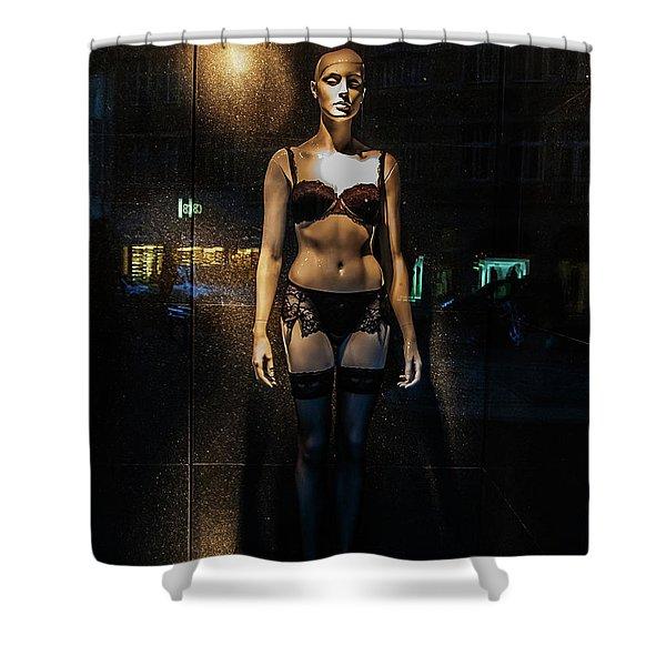 Girl_11 Shower Curtain