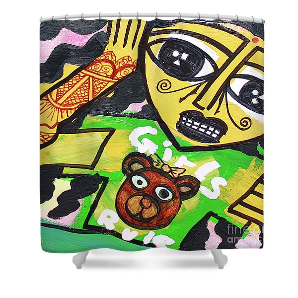 Girls Of India Shower Curtain