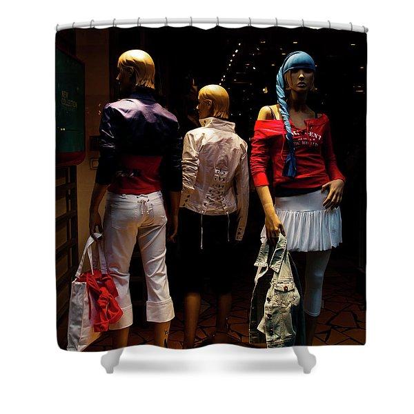 Girls_01 Shower Curtain