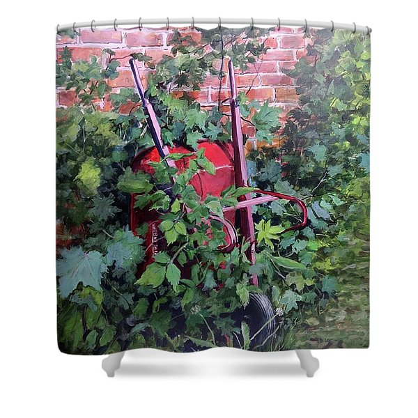 Give And Take Shower Curtain