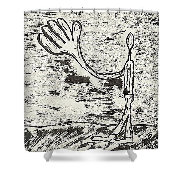 Give Me A Hand Shower Curtain