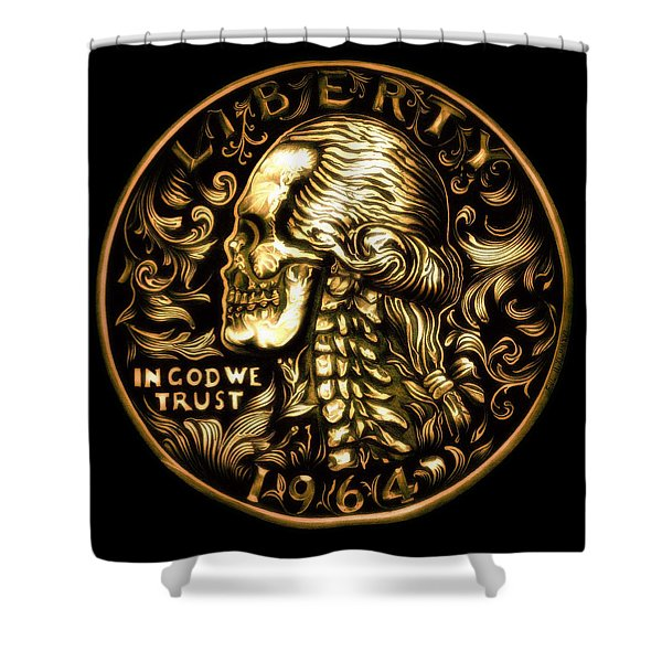 Give Me Liberty Or Give Me Death Shower Curtain