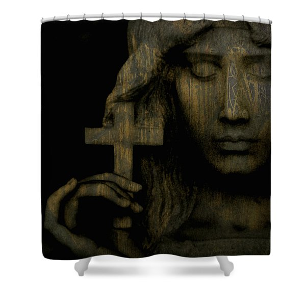 Give Me Peace On Earth Shower Curtain