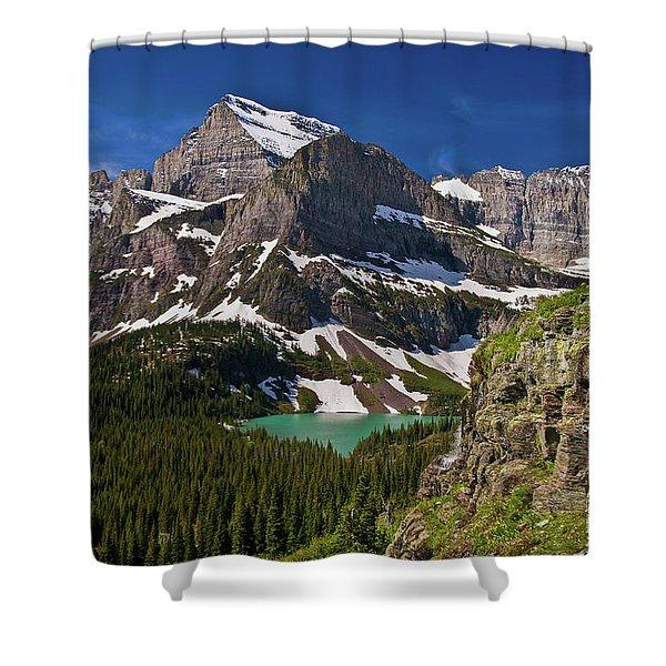 Glacier Backcountry 2 Shower Curtain