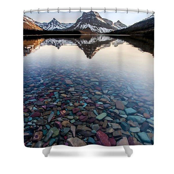Glacier Skittles Shower Curtain