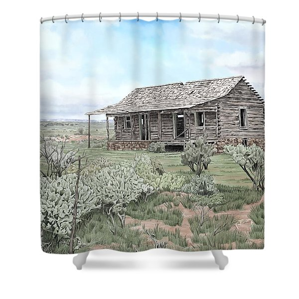 Glade Park Spring Shower Curtain