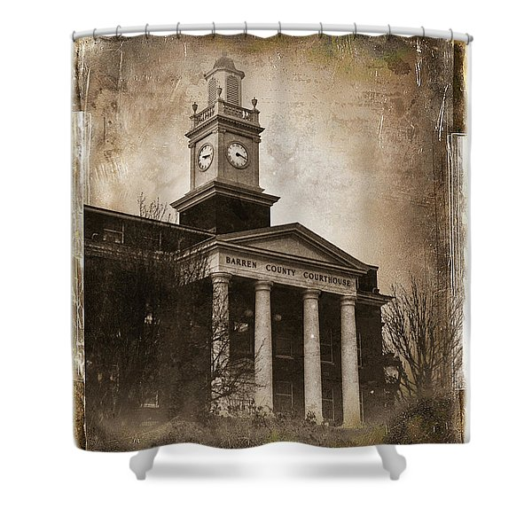 Glasgow Ky Courthouse Shower Curtain