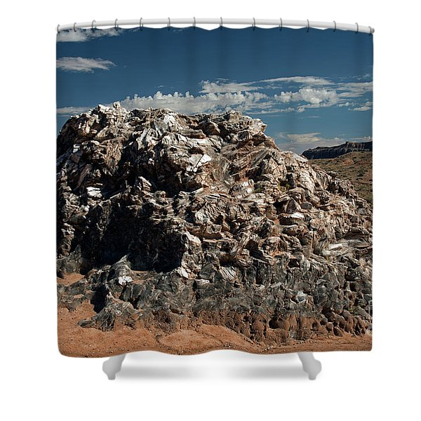Glass Mountain Capital Reef National Park Shower Curtain