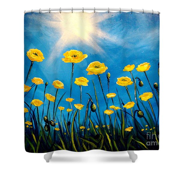 Gleaming Shower Curtain
