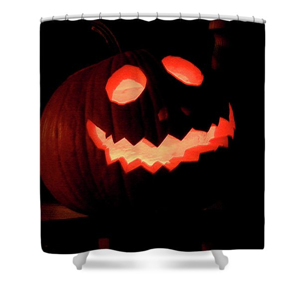 Gleaming Smile Shower Curtain