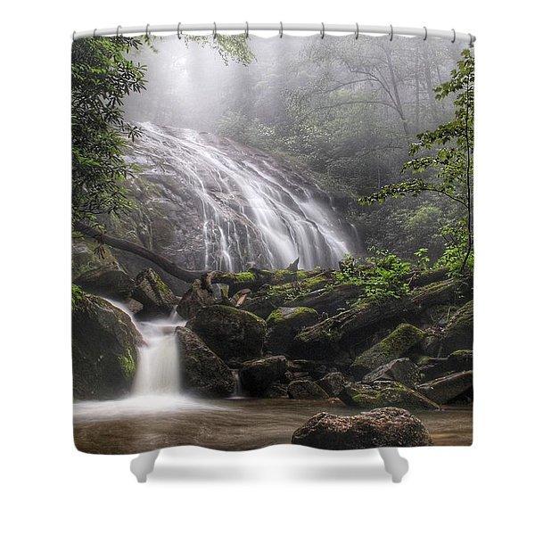 Glen Burney Falls Shower Curtain
