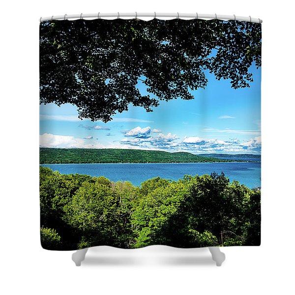 Glen Lake Shower Curtain