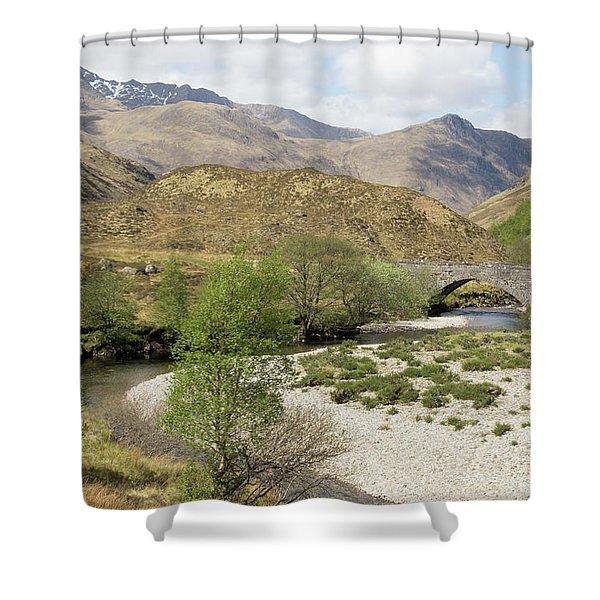 Glen Shiel - Scotland Shower Curtain