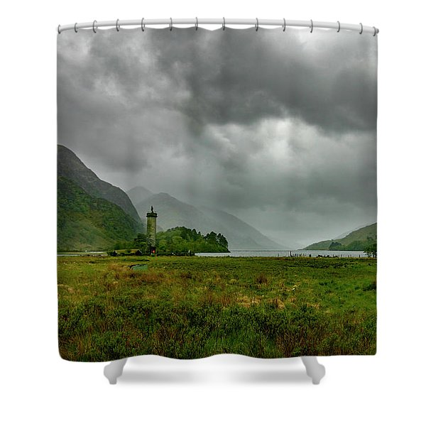 Glencoe, Scotland Shower Curtain