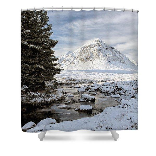 Glencoe Winter View Shower Curtain