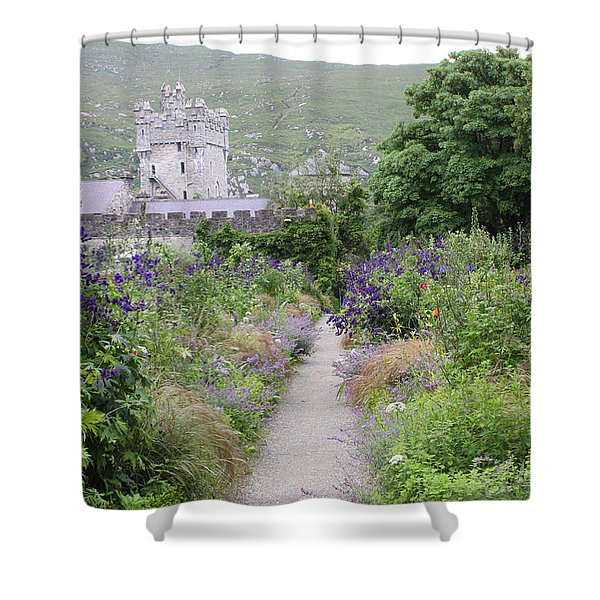 Glenveagh Castle Gardens 4292 Shower Curtain
