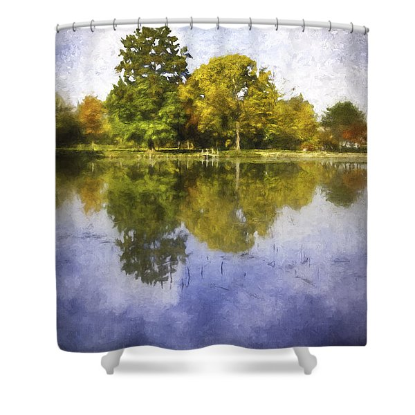 Glenview Impressions Shower Curtain