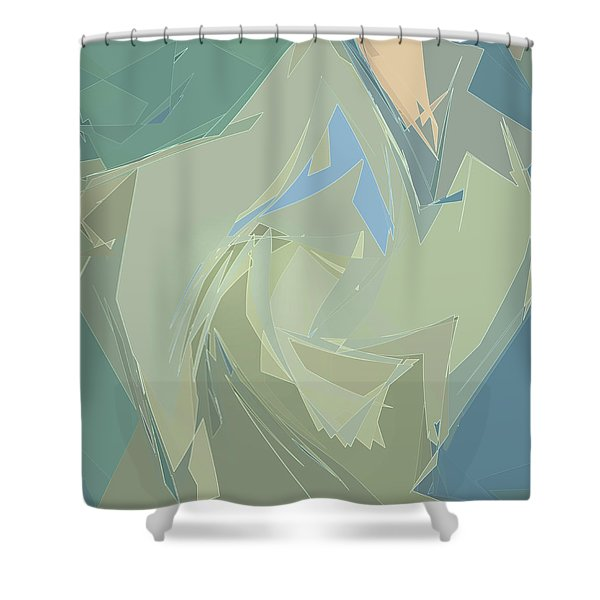 Glimmers Shower Curtain