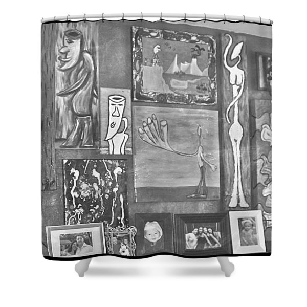 Glimpses Of Where Art Lives 4 Shower Curtain