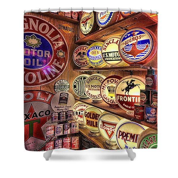 Globes Of The Past Shower Curtain