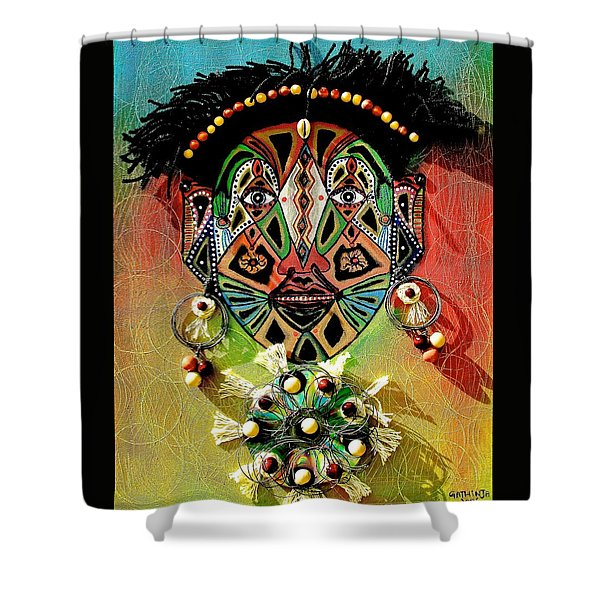 Glocal Child Shower Curtain