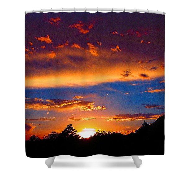 Glorious Sunset Shower Curtain