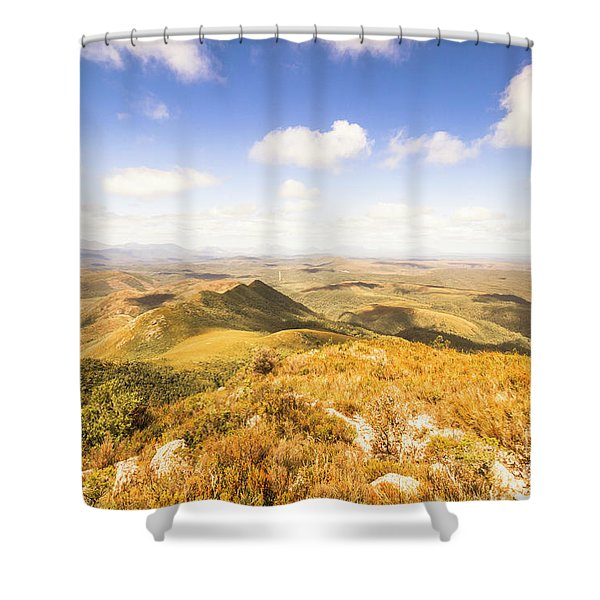 Glorious Tasmania Shower Curtain