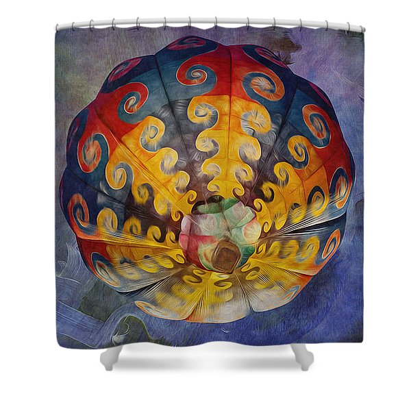 Glory Of The Sky Shower Curtain