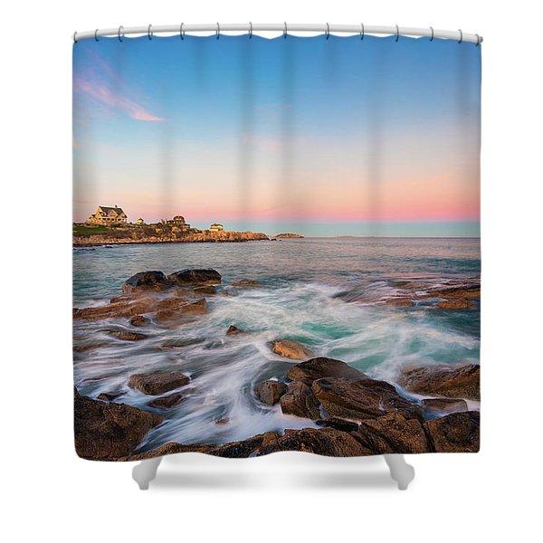 Gloucester Sunset 1 Shower Curtain